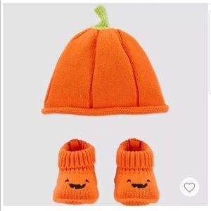 Carter's Just One You Halloween Beanie Bootie Set